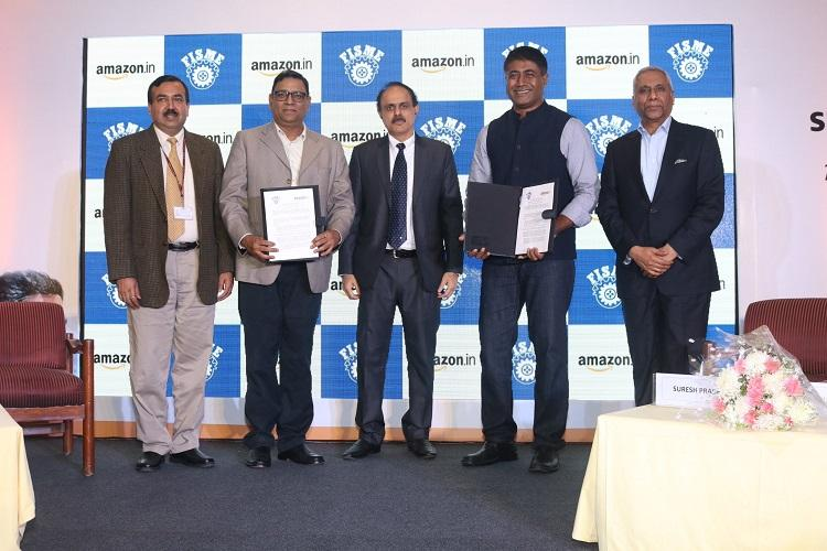 Amazon India signs MoU on marketing support for MSMEs
