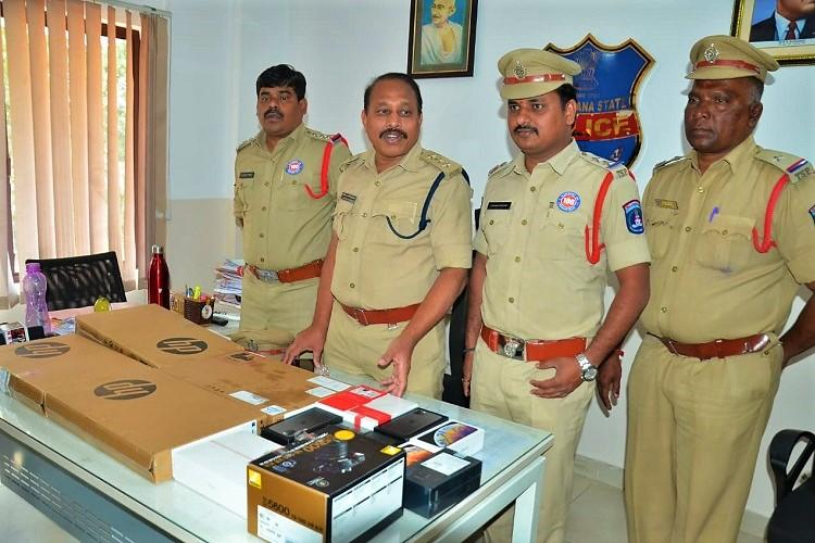3 working with Amazon third-party vendors arrested for stealing phones in Hyderabad