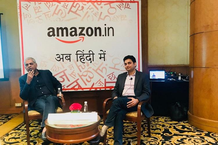Amazon India website and app now in Hindi more languages maybe added soon