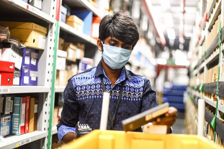 Face masks temperature checks Amazon India makes changes to on-ground operations