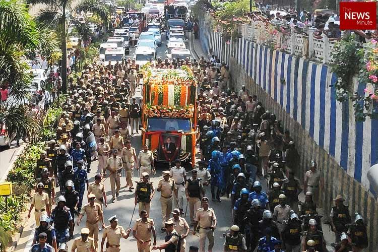 In Pictures Thousands bid goodbye to Ambareesh in Bengaluru