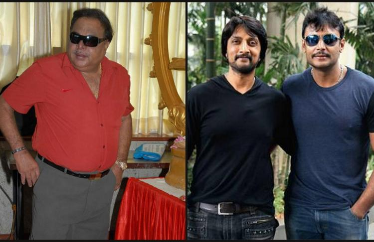 Kichcha Sudeep and Darshan part ways as friends, Ambareesh won't
