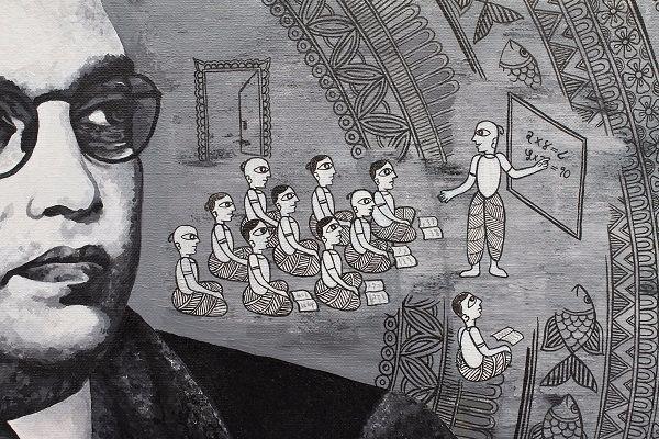 Colours of rebellion Capturing Ambedkars life and revolutionary spirit in art