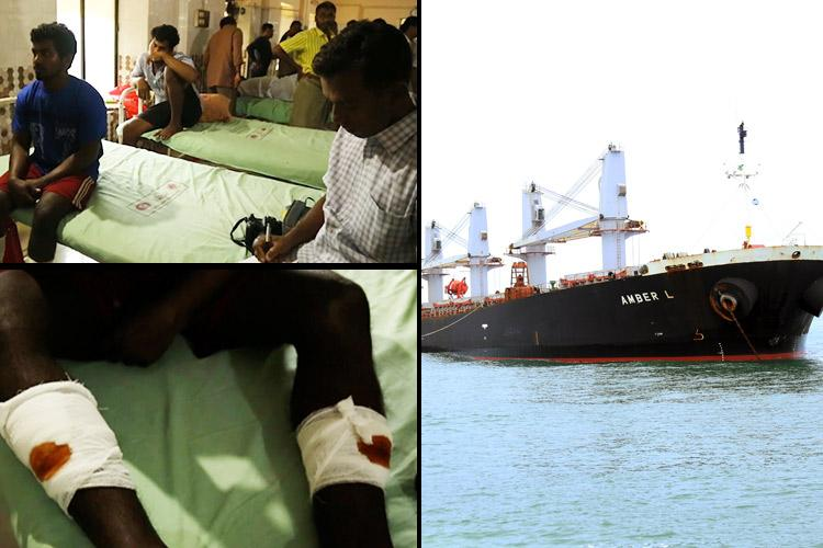 Mid-sea hit-and-run in Kochi Boat crash survivors say cargo ship sailed away after collision