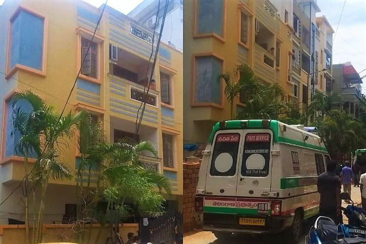Wife and husband dead after suspected suicide pact by family of 4 in Hyderabad