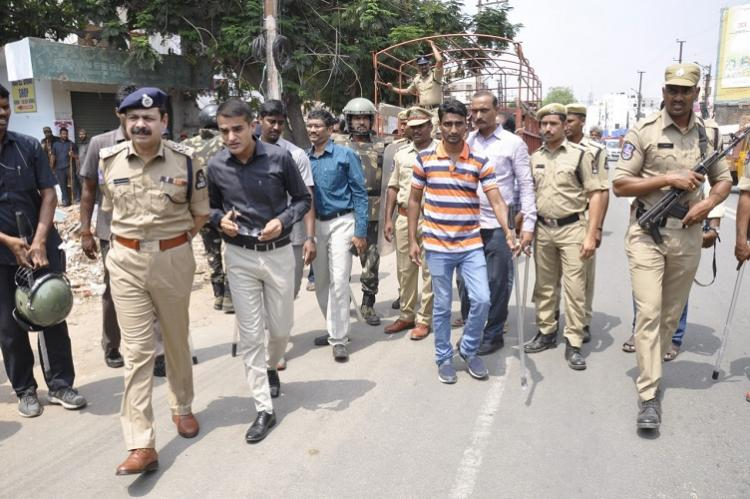 Amberpet demolition: Mild tension in Hyderabad's old city as