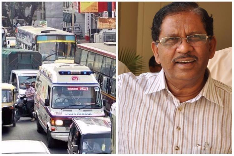 In Bengaluru its VIP movement vs citizens lives Another ambulance blocked