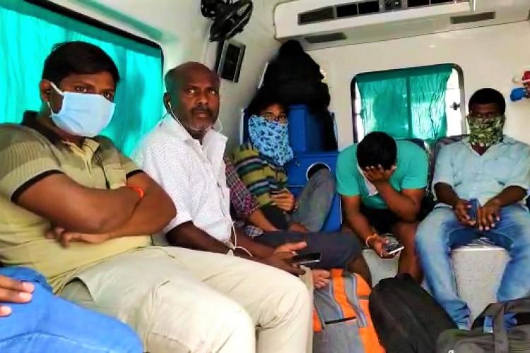 Ambulances caught ferrying passengers in Telangana lockdown to defy curfew