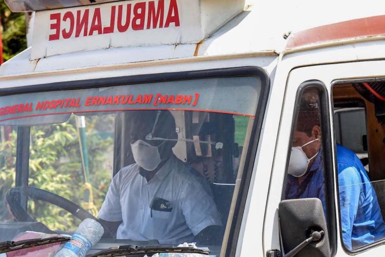 Ambulance driver in Kerala