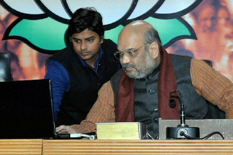 BJP chief Amit Shah diagnosed with Swine Flu admitted to AIIMS