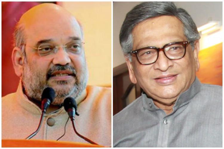 Ex-Congress veteran SM Krishna all set to join BJP Will meet Amit Shah soon