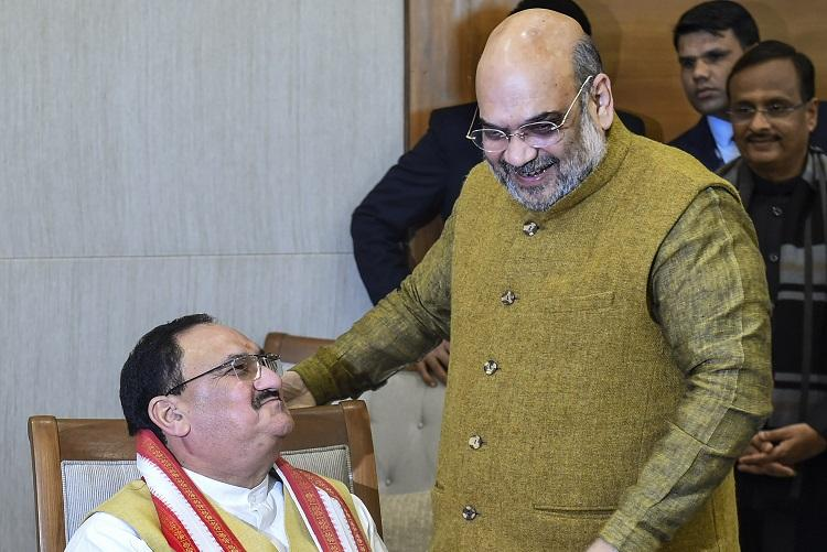 JP Nadda takes over as BJP National President as Amit Shah steps down