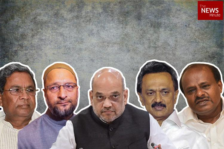 This is India not Hindia Political leaders oppose Amit Shahs statement on Hindi unifying India