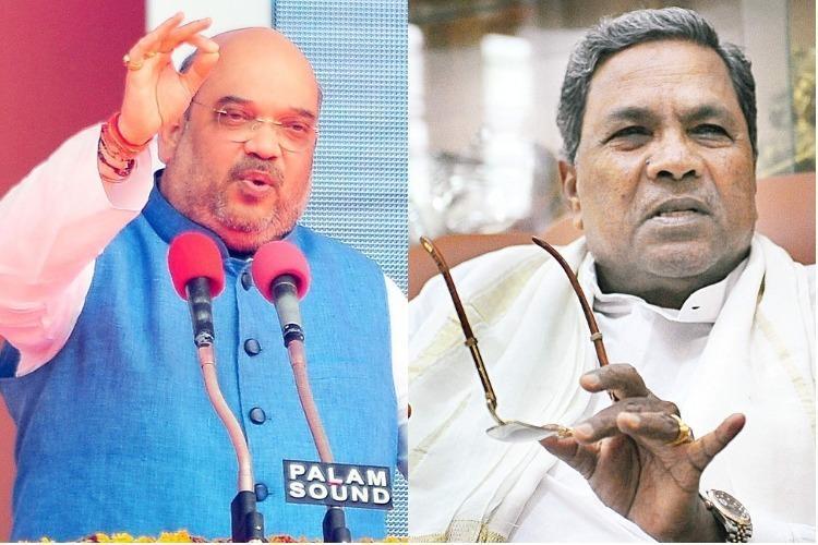 Mahadayi issue Amit Shah blames Siddaramaiah CM calls him a liar