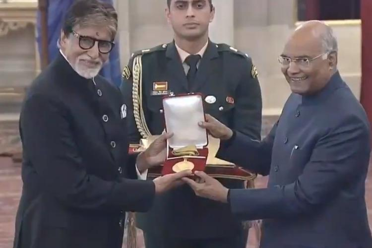 President honours Amitabh Bachchan with Dadasaheb Phalke Award at Rashtrapati Bhawan