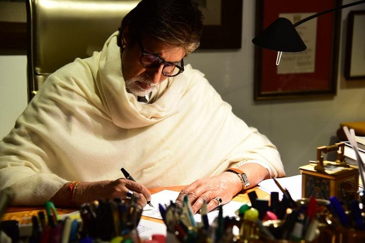 Amitabh Bachchans letter to granddaughters Dont worry about log kya kahengey