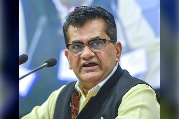 Indias energy deficit down to 1 pc in four years NITI Aayog