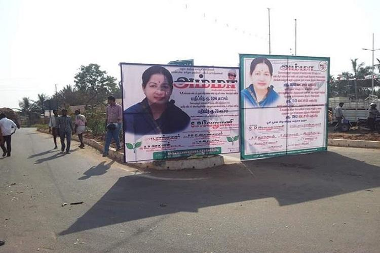 No flex boards banners on roads across TN for Jayalalithaas birthday Madras HC