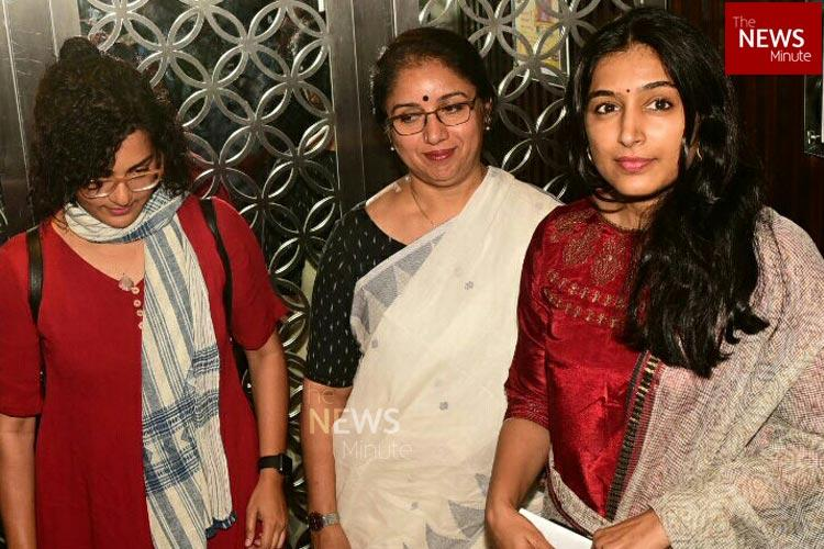 AMMA-WCC meeting in pictures The whos who of Malayalam film industry arrive