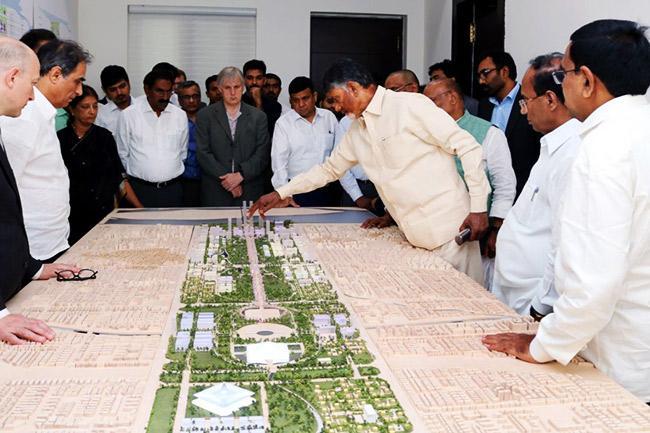 On Vijayadasami Andhra will start the construction of capital Amaravati