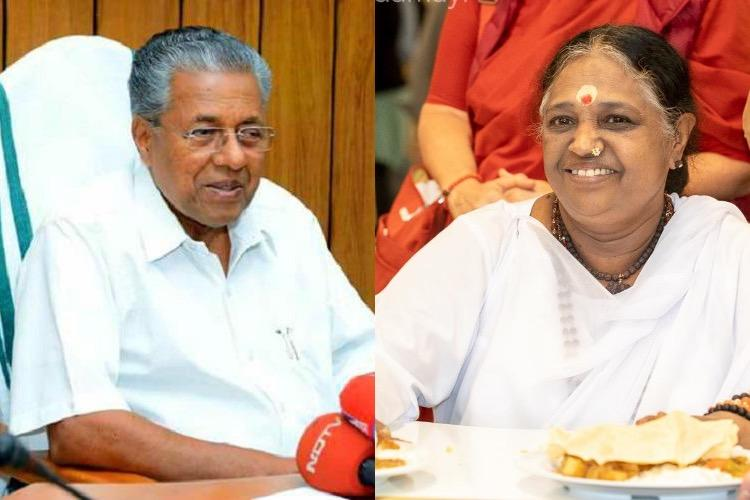 Mata Amritanandamayi should not have taken part in Sabarimala meet CM Pinarayi