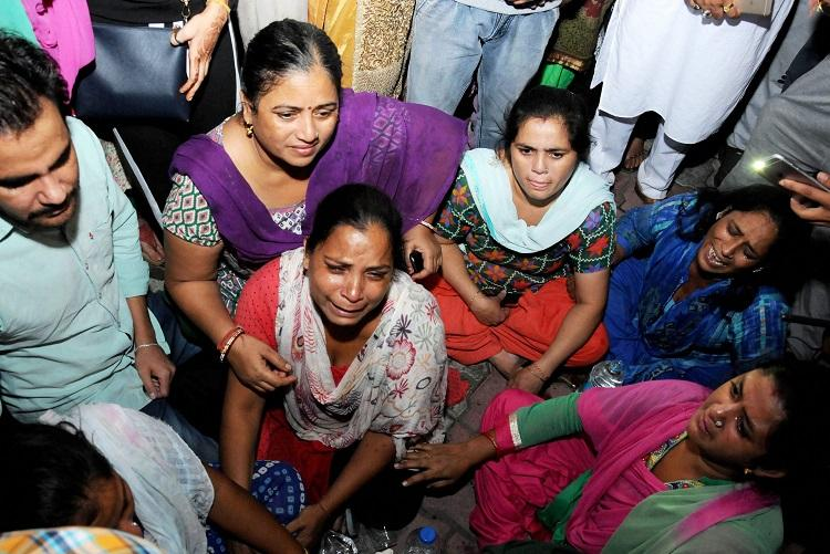 Amritsar train tragedy Death toll at 61 train driver detained as police begin probe