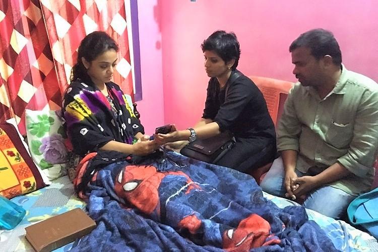 Gowsalya meets Amrutha Survivors of Shankar Pranay caste murders stand together