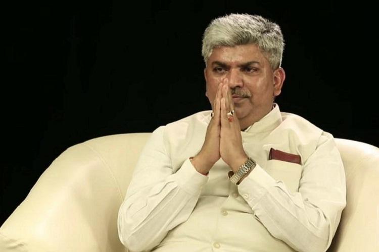 Ex-Congress MP from Telangana Ananda Bhaskar Rapolu joins BJP