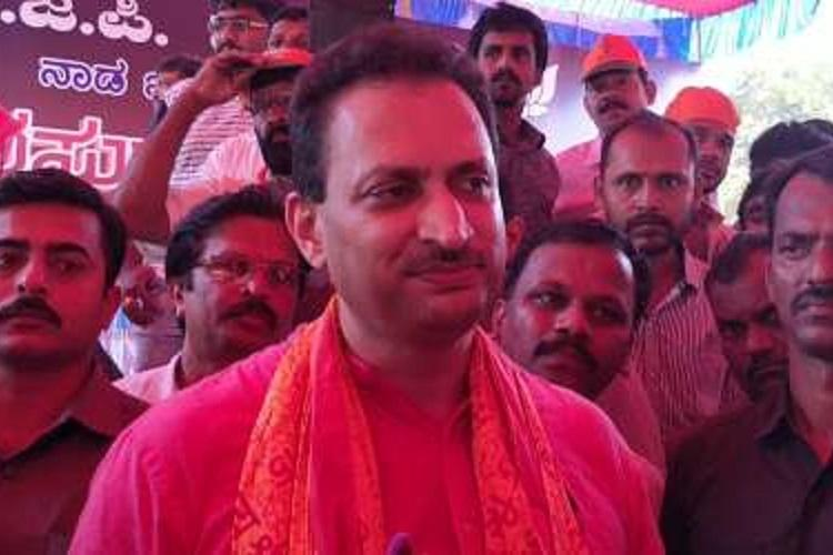 Polarising people is real democracy Union Minister Anantkumar Hegde interview
