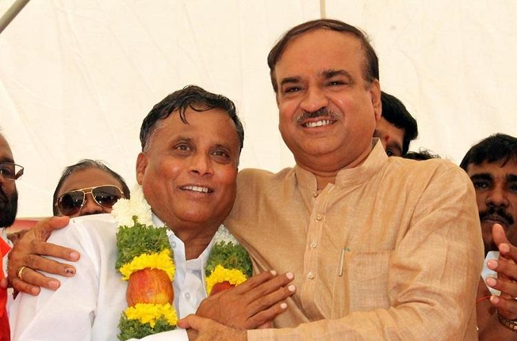 If BJP denies a ticket to Somanna will it lead to a rift between BSY and Ananth Kumar