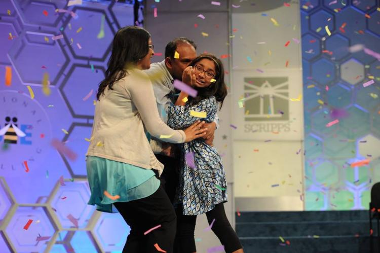 Ananya Vinay wins Scripps National Spelling Bee competition