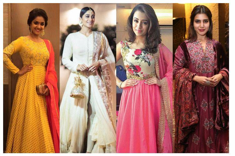 A dress that suits every body type Why North Indias anarkali is a rage in the South