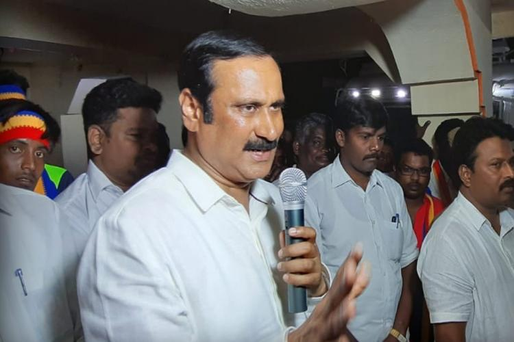 PMK youth secretary Anbumani Ramdoss who went to court over the highway