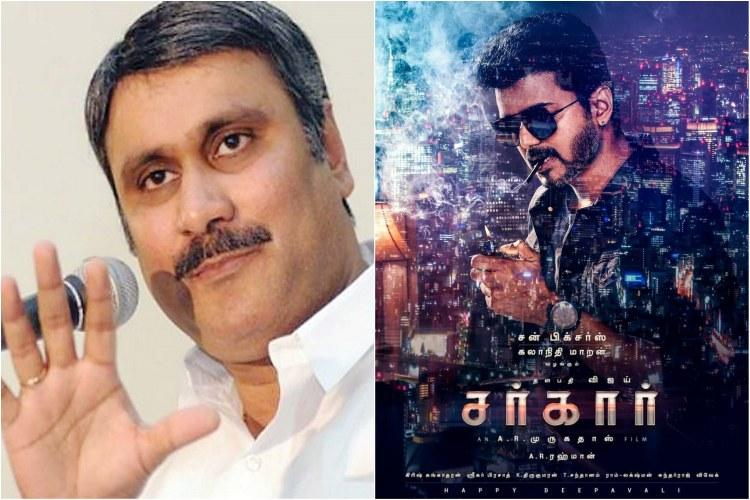 Anbumani Ramadoss slams Vijay for smoking in Sarkar poster fans incensed