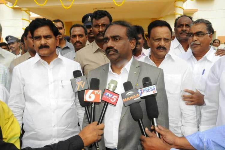 Guntur officer drops allegations against Andhra minister blames YSRCP
