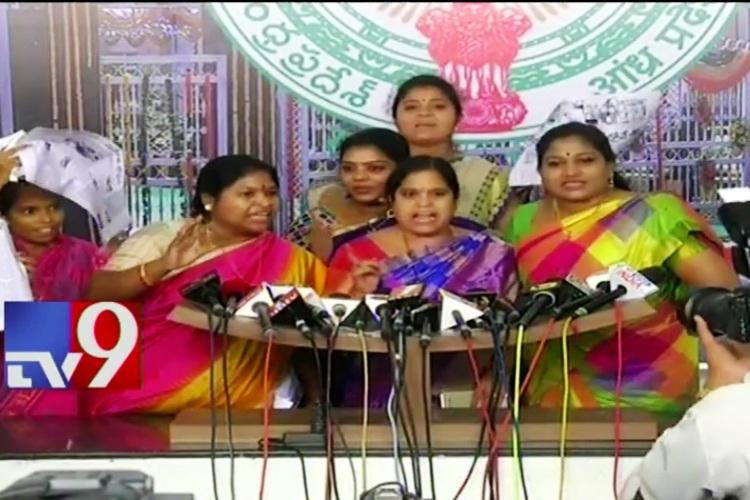 Andhra Assembly sees high drama TDP and YSRCP leaders clash at media point