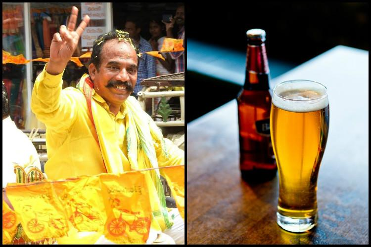 Beer is the secret of his energy Andhra Minister calls beer a health drink to be promoted