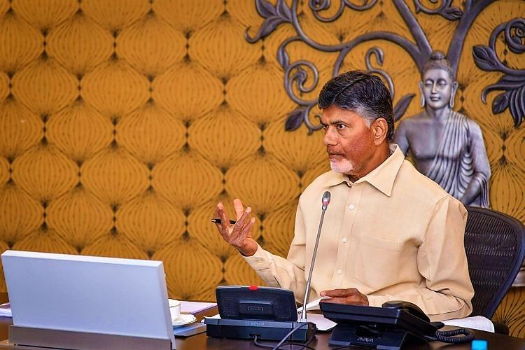 Andhra CM Naidu blames Centre for slow growth of AP