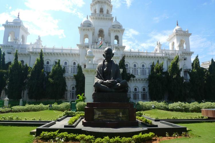 37 YSRC MLAs suspended for disrupting AP Assembly proceedings