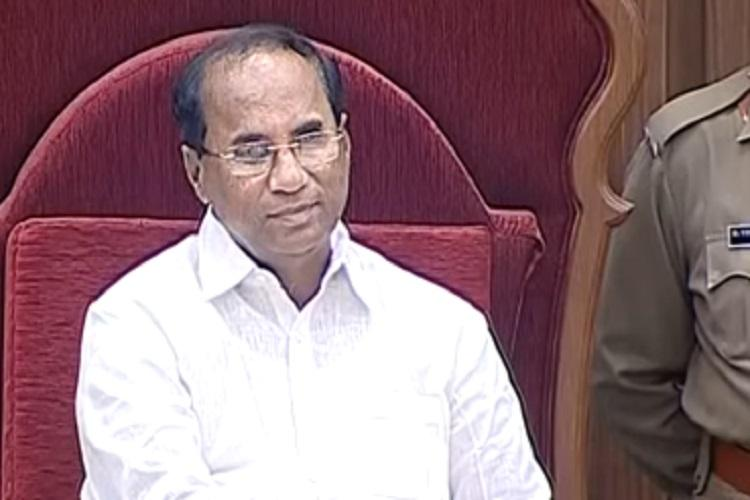 Ruckus in Andhra Assembly as YSRCP stalls proceedings over alleged paper leak