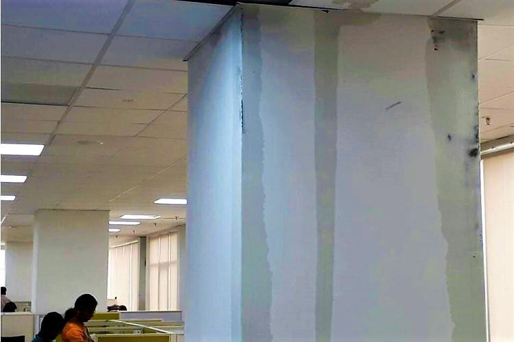 Rainwater seeps into Andhra secretariat in Amaravati damages files in Ministers office