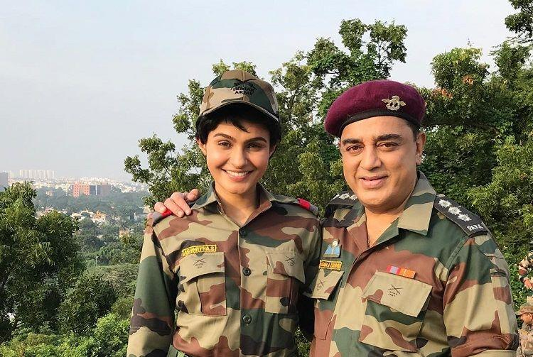 Andrea to croon a song for Vishwaroopam 2 film slated for January 2018 release