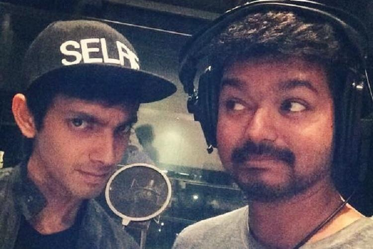 Anirudh to collaborate with Vijay and Murugadoss again