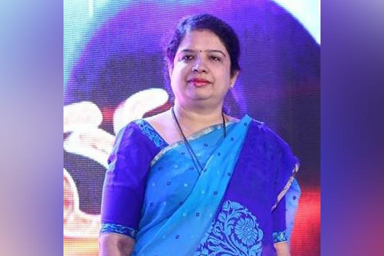 Ktaka CM HDKs wife Anitha files nomination for bye-polls declares Rs 94 crore assets