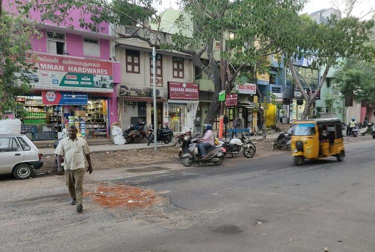 Chennais pothole-ridden PS Sivaswamy Salai road still a nightmare for residents