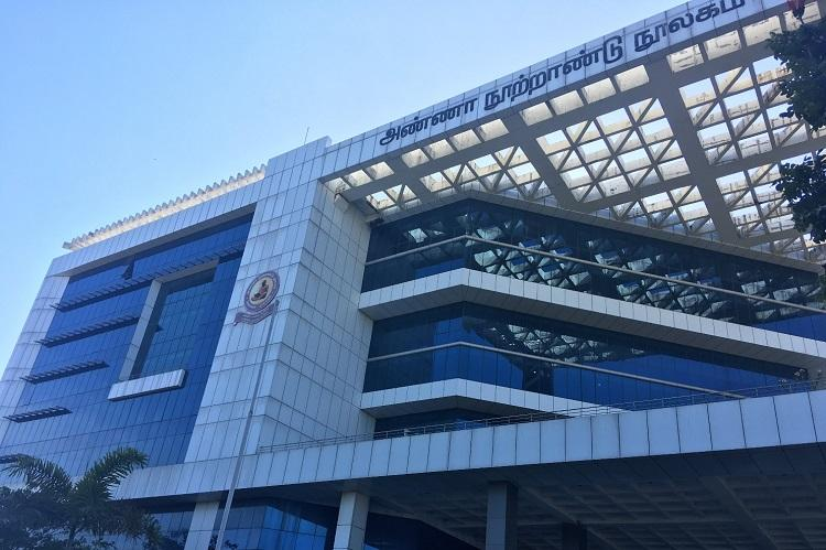 Behind the glass walls of Chennais Anna Centenary Library lies a picture of neglect