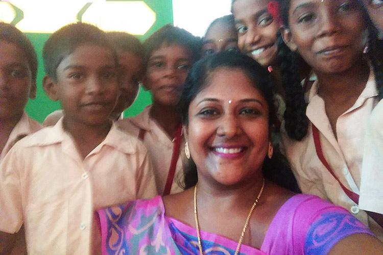 This TN govt-school teacher sold her jewellery to give students a classroom they deserve