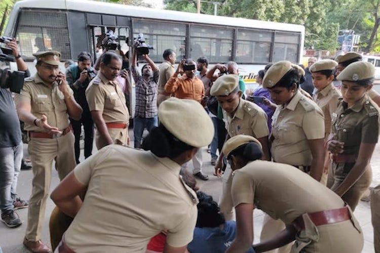 Chennai police prohibit protests in city again will court step in
