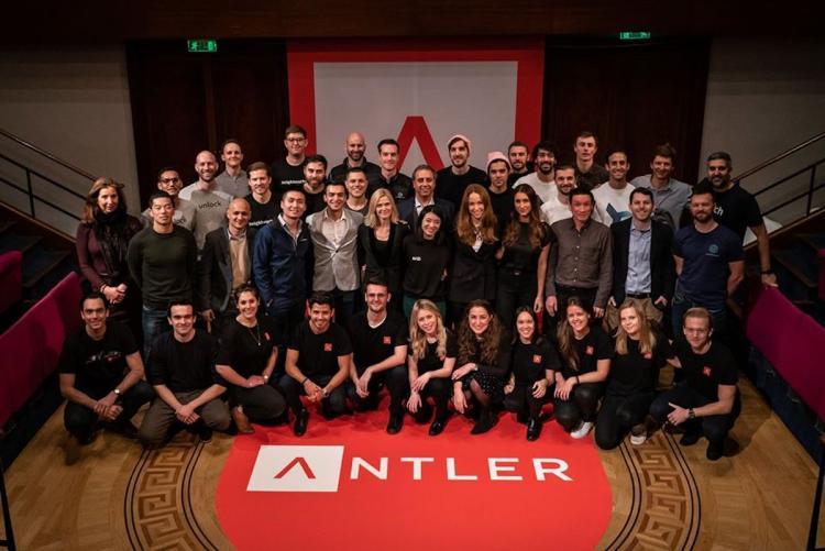 Antler team posing