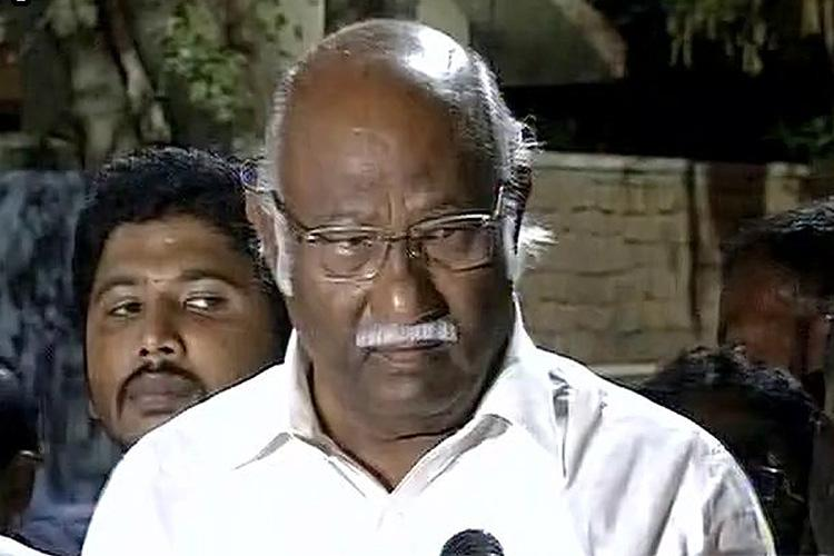 CBI raids at AIADMK MP Anwar Raajhas residence for alleged job scam